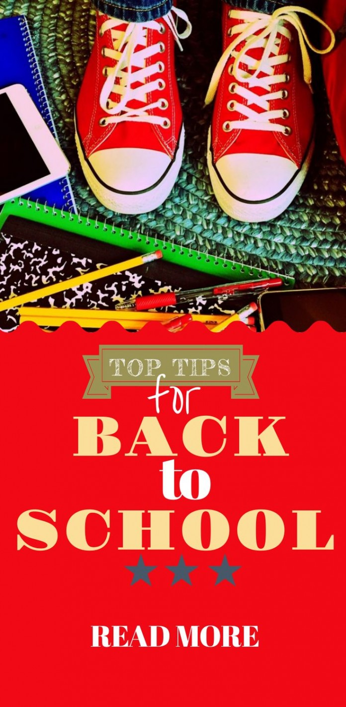 12 Simple Tips To Beat Back to School Blues