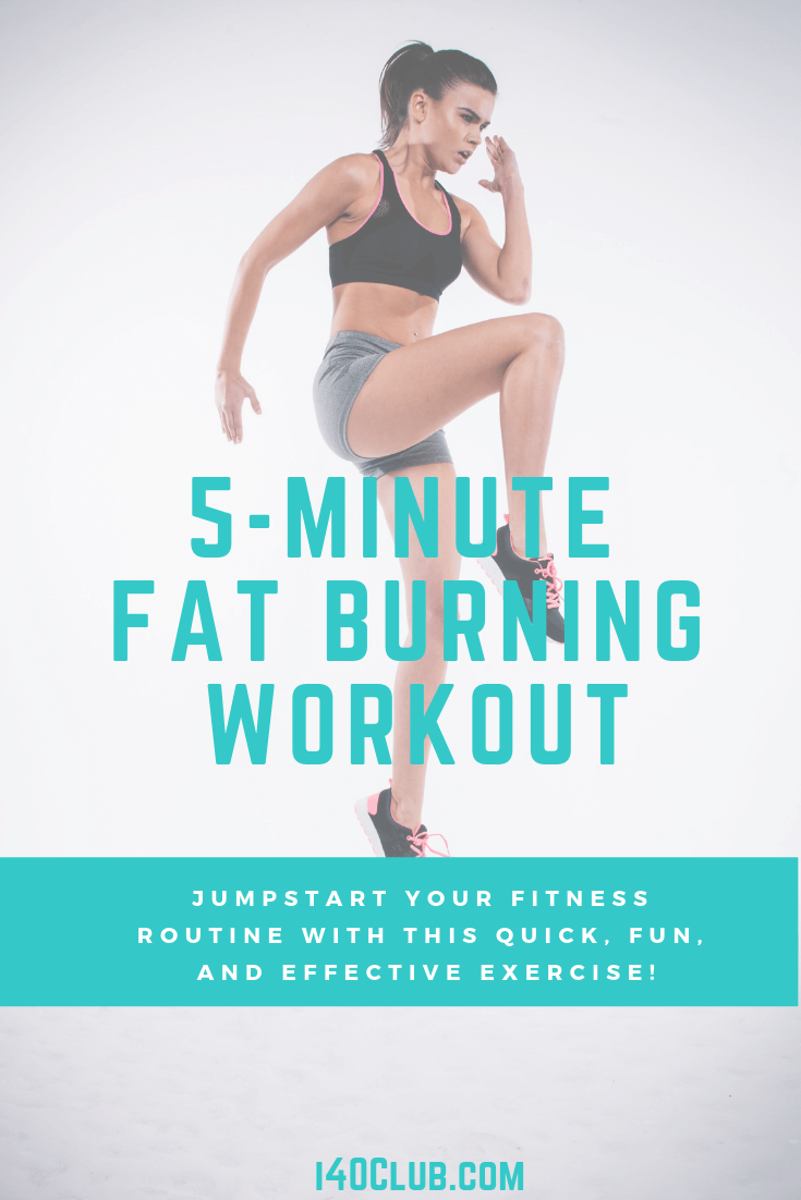 5 Minute Fat Burning Workout At Home