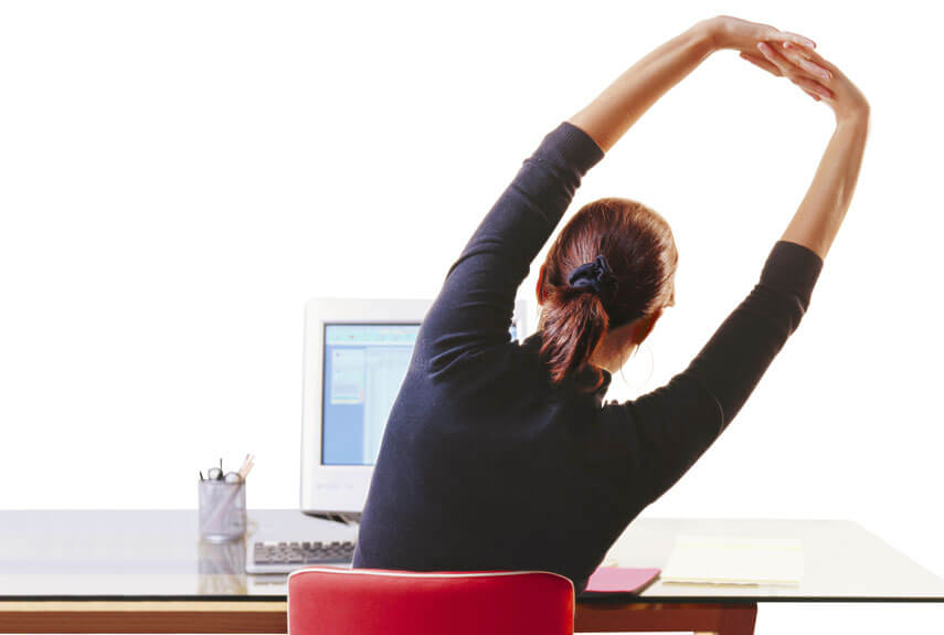 desk strech for back pain