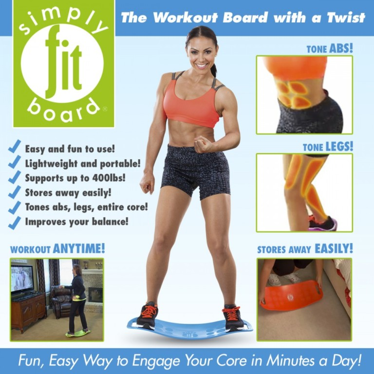 Share and Get More Entries to Win a Simply Fit Board