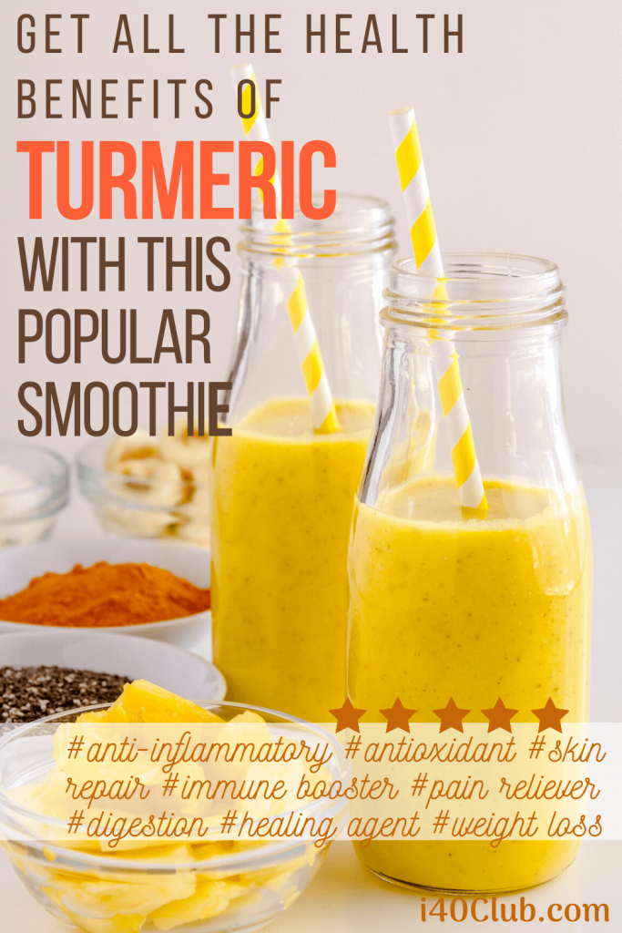 Health Benefits of Turmeric Smoothie