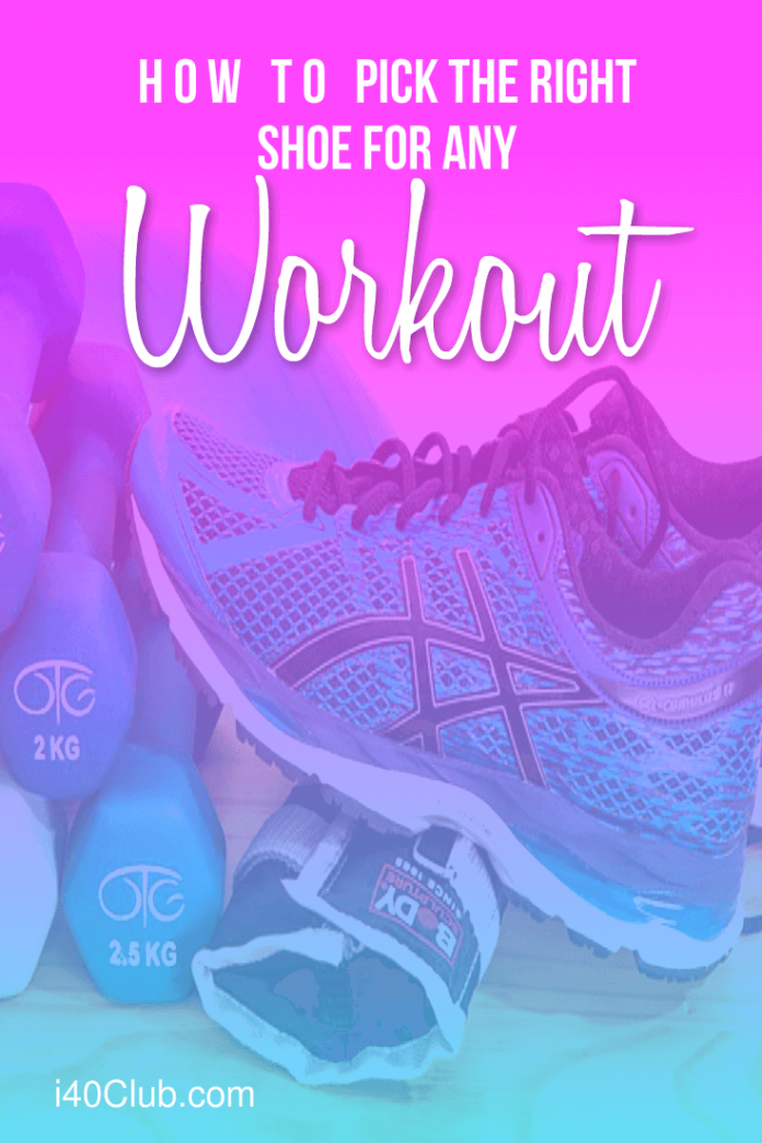 How to Pick the Right Shoes for Any Workout