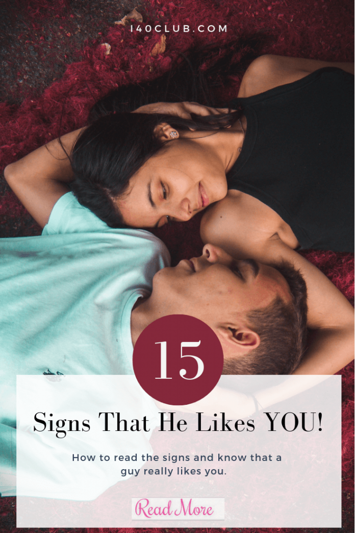 How to Know If He Likes You