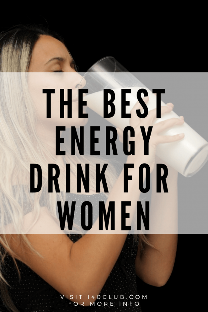 The BEST Energy Drink for Women