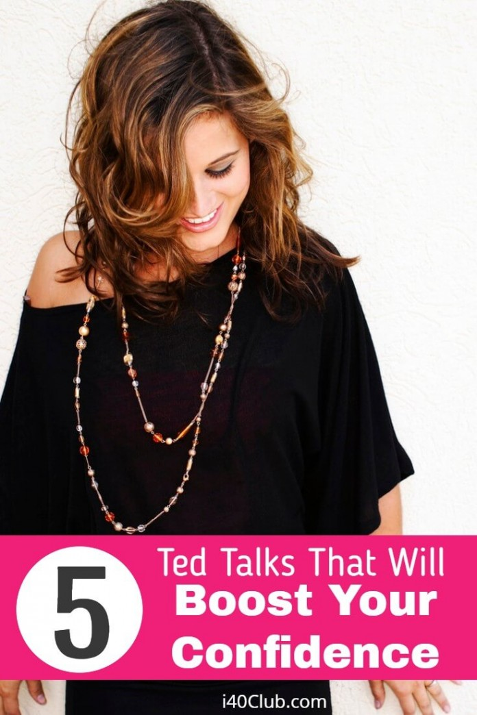5 Ted Talks That Will Boost Your Confidence