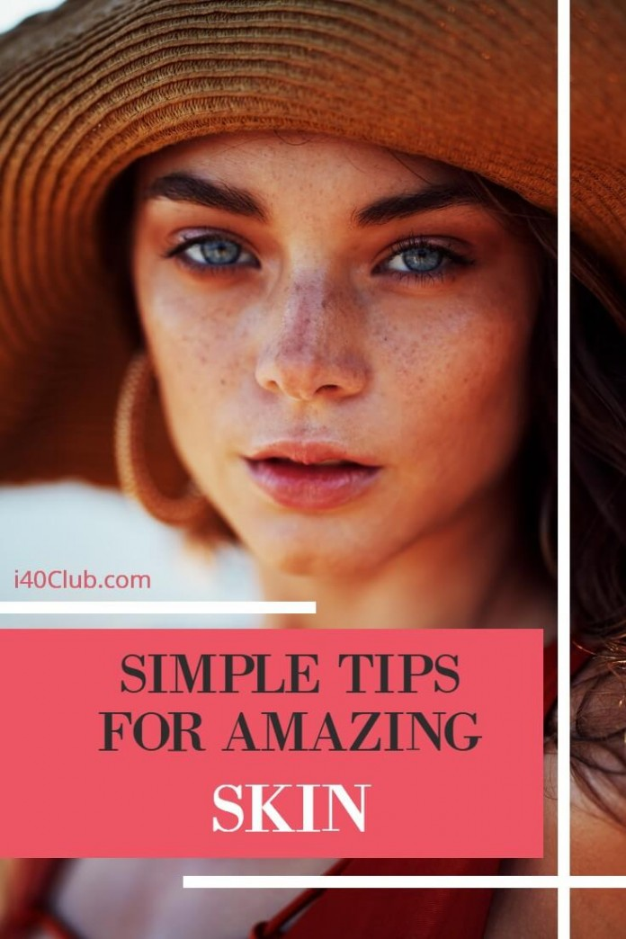Love the skin you are in because it's the only one you're going to get and using these tips is how to get glowing skin! Look after it and you can stay looking young and dewy for a long time!
