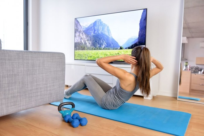 3 Easiest Ways to Get Fit At Home