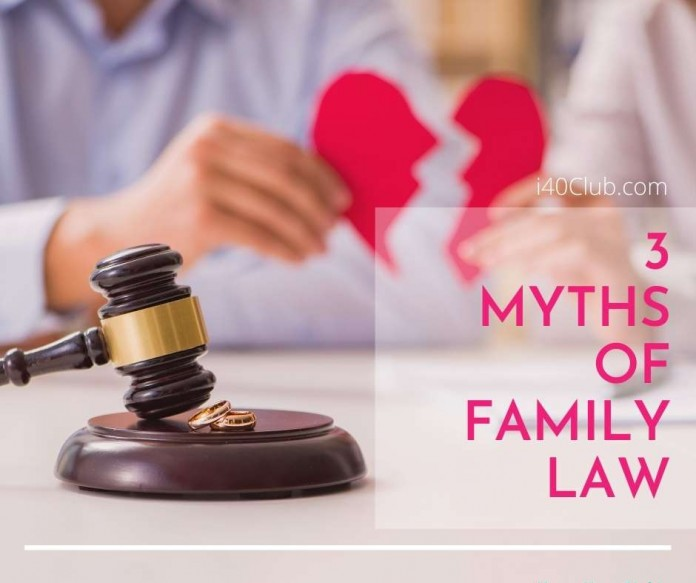 3 Myths of Australian Family Law