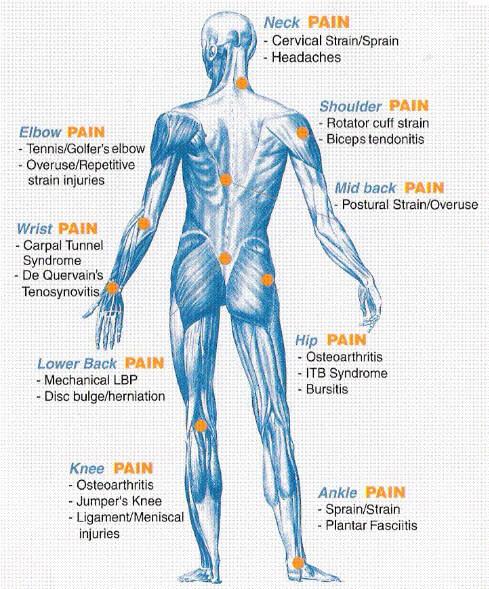 whole body pain